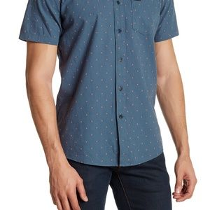 Volcom Zeller Short Sleeve Printed Modern Fit